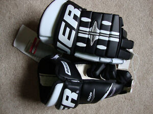 Bauer SDP Leather Hockey Gloves