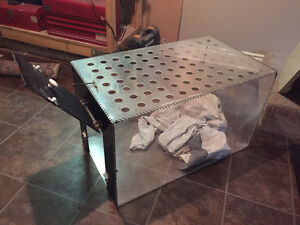 Hand-made, safe, see-through dog / pet cage