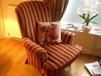 Really Nice Striped Velvet Chair £40