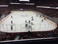 1/3 of my Calgary Flames SILVER Level Season Tickets