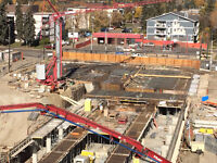 Labours needed for Commercial Concrete forming