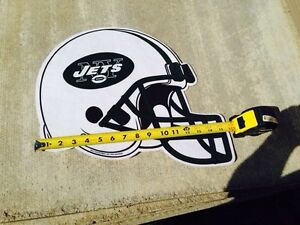 New York Jets NFL helmet pennant