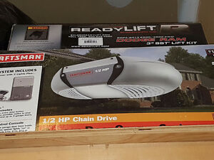 Chain, Rail, Cable and Accessories for Garage Door opener