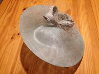 John Charles mother of the bride hat to match the outfit Sea Mist 25866