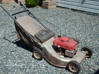 Honda Gas Self propelled lawnmower