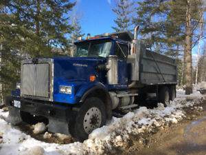 FOR SALE 1992 WESTERN STAR TANDEM DUMP TRUCK