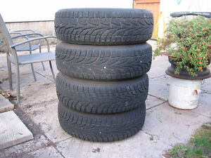 215-70R-15 snow tires