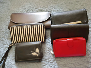 Assortment of Mixed Wallets New & Gently Used