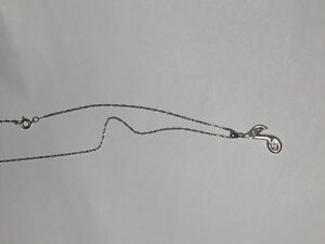 Sterling Silver Music Note Necklace Peterborough Peterborough Area image 2