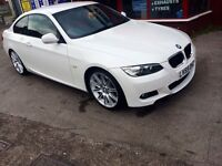 BMW 3 Series 2.0 320d M Sport Highline Coupe 2d, red Leather interior immaculate car must see!!