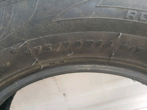 Winter Tires 175/70/14 $250