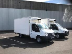 2014 63 PLATE FORD TRANSIT 125 T350 LWB FRIDGE FREEZER