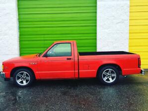 1988 Chevrolet S10 V8 muscle Car