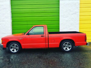 1988 Chevrolet S10 V8 muscle Car