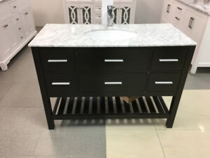 "Sauble 48"" Bathroom Vanity Espresso"