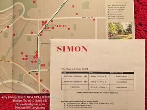 Why rent? SIMON at Burquitlam / Lougheed / $329k1BR $430k 2NR