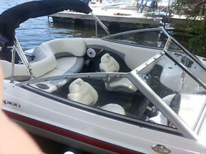 16ft Campion motor boat with 90hp  evinrude outboard