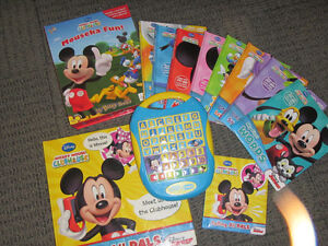 MICKEY MOUSE CLUBHOUSE INTERACTVE BOOKS