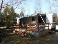 36 ft. Northlander House trailer on beautiful Grand Bend lot