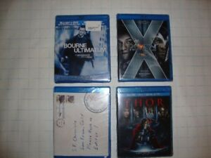 Movies Blu-Ray and DVD