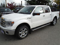 2013 Ford F-150 Lariat Pickup Truck, King Ranch edition, Eco-b