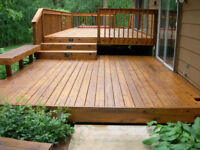 Restore/Refinish/Stain/minor repair your deck/fence/rails