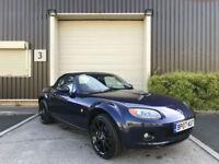 (07) 207 Mazda MX-5 2.0i Sport Blue Cabriolet Manual Low Mileage Leather Trim