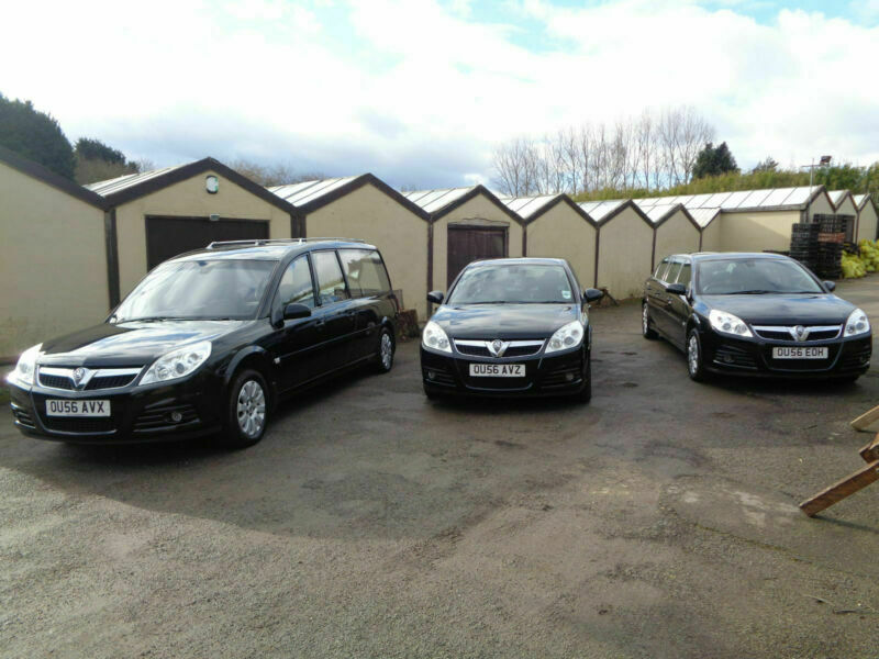 2007 Vauxhall Vectra Limousine Funeral Cars x 3, Fleet , Hearse, Very Low  Miles | in Thurcroft, South Yorkshire | Gumtree