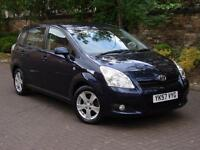 EXCELLENT DIESEL 7 SEATER! 57 REG TOYOTA COROLLA VERSO 2.2 D-4D T3 5dr 6 SPEED,