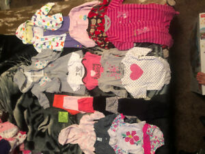 9-12 month clothing - girl