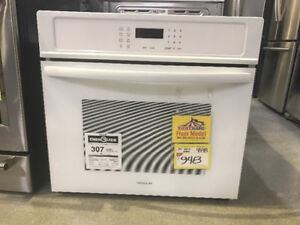 """30"""" wall oven white"""