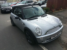 Mini Mini 1.6 ( Pepper ) One CONVERTIBLE 07/07