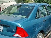 2000 Ford Focus Sedan