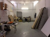 Large Artist's Studio Space - New Cross/Surrey Quays/South Bermondsey