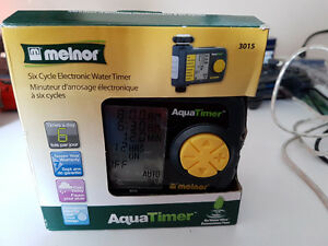 Melnor Six Cycle Electric Water Timer