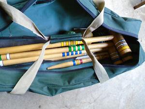 Partial Croquet Set