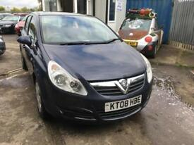 Vauxhall/Opel Corsa 1.2i ( a/c ) 2008 Club LOW MILES,MARCH 2018 MOT,5 DOOR