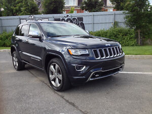 VALID FACTORY WARRANTY FOR 31000 KM 2014 Grand Cherokee Overland