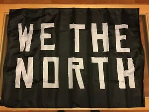 Toronto Raptors WE THE NORTH Banner – NBA Derozan Lowry Playoffs Oakville / Halton Region Toronto (GTA) image 1
