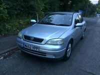 Vauxhall Astra 1.6 petrol one year mot good conditions