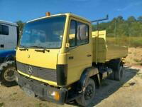 Mercedes-Benz 814 Left hand drive, 3 way tipper choice of 5 pieces