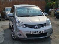 2010 Nissan Note N-tec 1.6 Auto Mpv Petrol Automatic