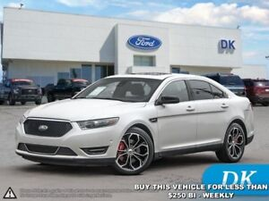 2014 Ford Taurus SHO  Certified Pre-Owned Ford CPO, Leather, Moo