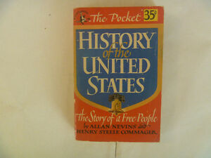 The Pocket HISTORY Of The UNITED STATES - 1951 Paperback