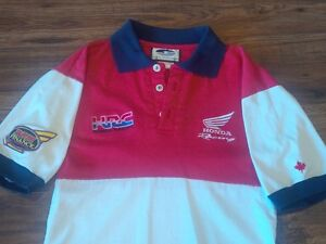 Honda Pit Crew Polo Shirt – Small - Red/White/Blue