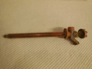 """Woodford 10"""" non-freeze wall faucet"""