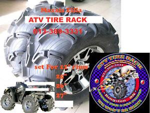 """MAXXIS ZILLA 27"""" tires at - ATV TIRE RACK - Canada"""