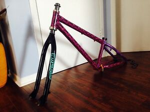 "Bike 24"" , frame Mirraco,fourche KHE et ++"