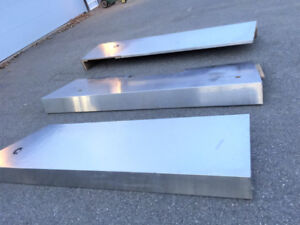 Stainless Steel counter tops (3x) of varying sizes