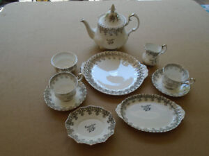Household TWENTY FIFTH ANNIVERSARY CUP AND SAUCER SETSET - $160
